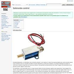 Solenoide-control