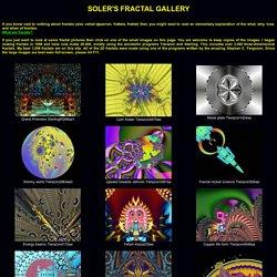Soler's Fractal Gallery