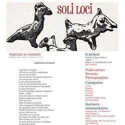 Soli loci - Blog de Grégory Haleux