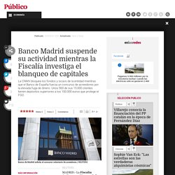 Banco de Madrid solicita el concurso voluntario de acreedores