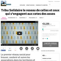 Tribu Solidaire le reseau de celles et ceux qui s'engagent aux cotes des assos