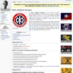 Parti solidaire français