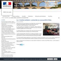 La «Cantine solidaire» présentée au sous-préfet d'Alès / Actualités / Accueil - Les services de l'État dans le Gard