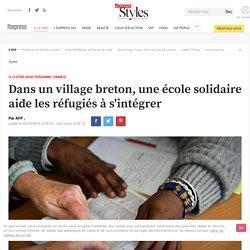 Dans un village breton, une école solidaire aide les réfugiés à s'intégrer - L'Express Styles