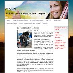 Garage Solidaire - Point ressources mobilité du Grand Avignon
