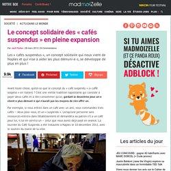 Le concept solidaire des « cafés suspendus » en pleine expansion