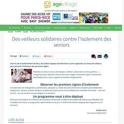 Des veilleurs solidaires contre l'isolement des seniors - 30/01/17