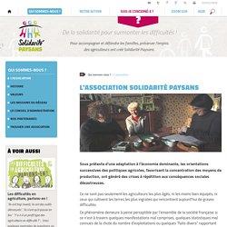 Solidarité Paysans : L'association nationale Solidarité Paysans