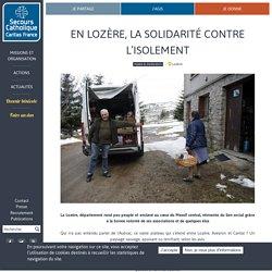 En Lozère, la solidarité contre l'isolement