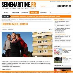 Département de la Seine-Maritime - Fonds solidarité logement