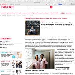 Solidarité : cet entrepreneur sauve des mères et des enfants
