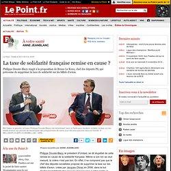 La taxe de solidarité française remise en cause ?