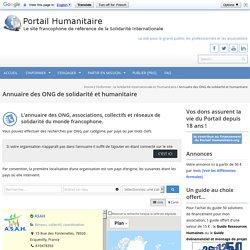 Annuaire des ONG de solidarité et humanitaire