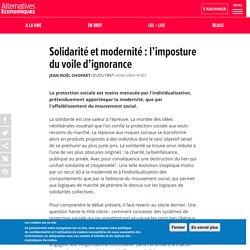 Solidarité et modernité: l'imposture du voile d'ignorance