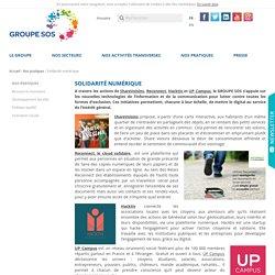 Solidarité numérique - GROUPE SOS