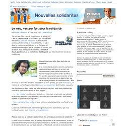 Le web, vecteur fort pour la solidarité — Nouvelles solidarités