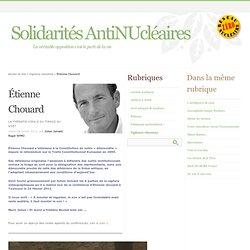 Étienne Chouard - Solidarités AntiNUcléaires