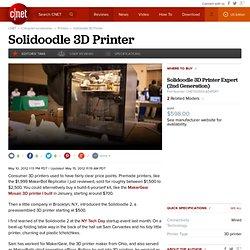 Solidoodle 3D Printer - 3D printers