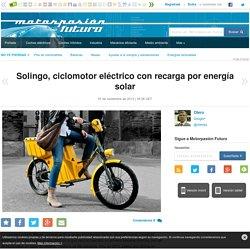 Solingo, ciclomotor eléctrico con recarga por energía solar