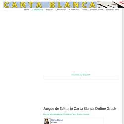 Solitario Carta Blanca - jugar juegos FreeCell online gratís!