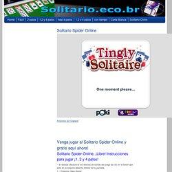 Solitario Spider Online y Grátis sin descargar. ¡Disfrútelo!