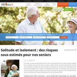 Solitude & Seniors : conséquences sur la santé physique et mentale