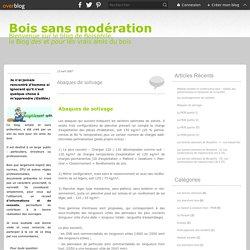 Abaques de solivage - BOIS SANS MODERATION, le blog de Boisphile