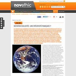 Le Rapport Rse, fonds éthiques et Developpement Durable dans l'Epargne Solidaire