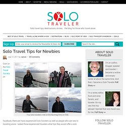 Solo Travel Tips for Newbies