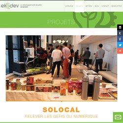 Solocal / Eco-mobilité / Nos projets / Projets / ekodev