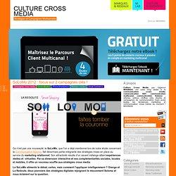 Culturecrossmedia est votre blog dédié au cross média : articles, vidéos, chiffres clés au sujet des campagne de communication cross media mais également toutes les nouvelles tendances mar