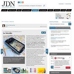 Le SoLoMo - Tendances 2012 - Journal du Net Economie
