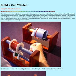 Solomon Coil Winder