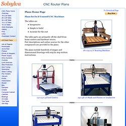 CNC Plans~ Home Page