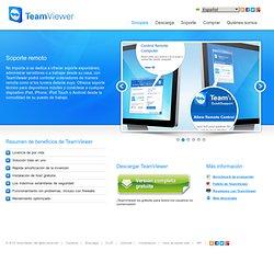 Solución para control remoto, acceso remoto, oficina en casa y funciones de TeamViewer