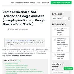Cómo solucionar el Not Provided en Google Analytics