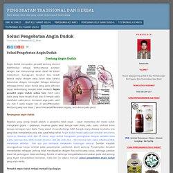Pengobatan Tradisional Dan Herbal