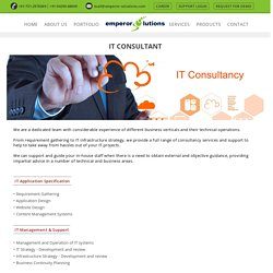 Emperor Solution - Best IT Consultancy Services