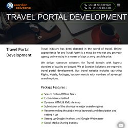 Travel Website Designing