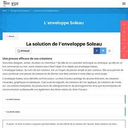 La solution de l'enveloppe Soleau