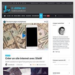 SiteW, une solution française pour créer son site internet