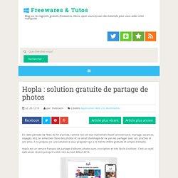 Hopla : solution gratuite de partage de photos