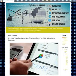 Oshin Web Solution - Best Digital Marketing Company in India: Improve Your Business With The Best Pay Per Click Advertising Company