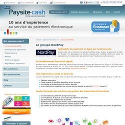 solution de paiement sécurisé - Groupe NordPay