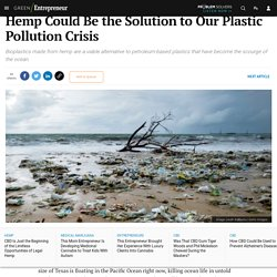 Hemp Could Be the Solution to Our Plastic Pollution Crisis