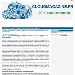 Talend : une solution de préparation de données pour le Big Data sur Apache Beam