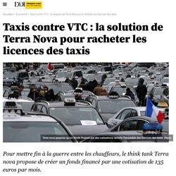 Taxis contre VTC : la solution de Terra Nova pour racheter les licences des taxis