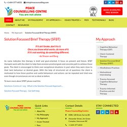Solution Focussed Brief Therapy Resources and Worksheets