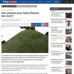 Une solution pour Saint-Étienne-des-Grès?