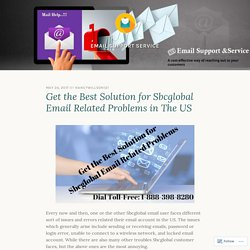 Get the Best Solution for Sbcglobal Email Related Problems in The US – Email Support Service